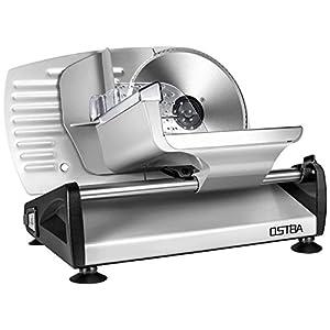 Affettatrice, affettatrice elettrica acciaio inossidabile, metallo, colore argento, spessore max 15 mm affettatrice… 7