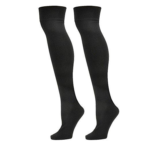 steve-madden-womens-sm25726-2-pack-over-the-knee-socks-black-black