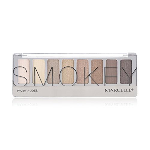 Marcelle Smokey Eyeshadow Palette, Warm Nudes, Hypoallergenic and Fragrance-Free, 0.29 oz by Marcelle