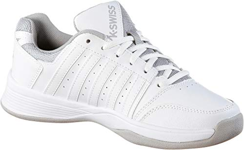 Weiß Performance Damen Court 6 Swiss K 000070594 Carpet Wht Wht Smash Tennisschuhe Wht High Rise m rise High 5RqPgw