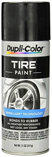 VHT TP101 Black Dupli-Color Tire Paint, 11. Fluid_Ounces