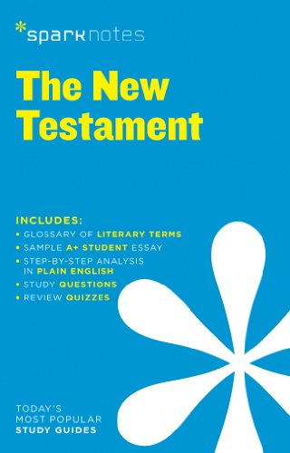 New Testament SparkNotes Literature Guide (SparkNotes Literature Guide Series)