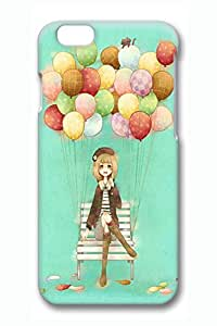 Anime Balloon Girl Slim Hard Cover for iPhone 6 Case (4.7 inch) PC 3D Cases by mcsharks