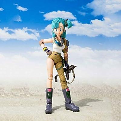 TAMASHII NATIONS Bandai S.H. Figuarts Bulma Dragon Ball Action Figure: Toys & Games