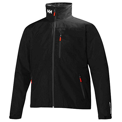 Neck Helly Hansen Black Men's Round Jacket dqHrIq