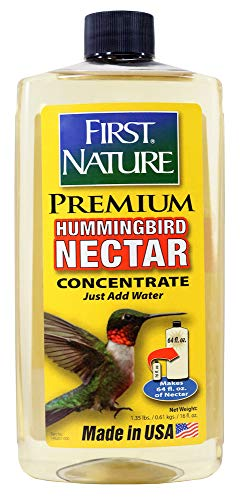 (First Nature 3052 Clear Hummingbird Nectar, 16-ounce Concentrate)