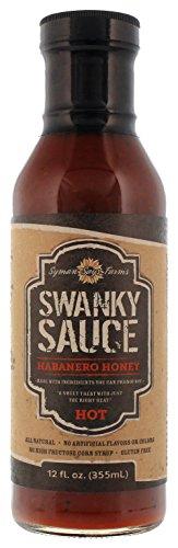 Swanky Sauce Habanero Honey Hot Sauce, 12 - Honey Habanero Mustard