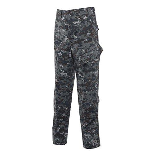 Tru-Spec Tactical Response Pants, POLYCO Rip, Midnight Digital, Small, Short