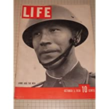 Life Magazine (1938) The Maginot Line - Chamberlain Flies To Hitler - Hurricane Sweeps New England - The New York Yankees - Negroes:The U.S.Minority Problem - Rise and Fall of Mussolini - Europe's Map - Hitler's Siegried Line