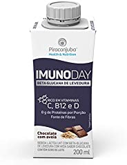 Bebida Láctea Piracanjuba Imunoday Sabor Chocolate com Aveia 200ml