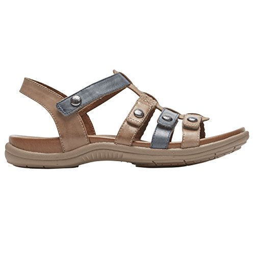 Hill Cobb Womens 9 T Medium Rockport Khaki Strap Multi S New Rubey 5UxqdBd