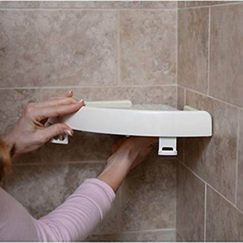 LIKE SnapUp Bathroom Shelf As Seen On TV Includes Adjustable Hooks for Hanging Washcloths Razors On Any Surface