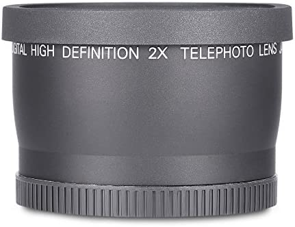 Digital de Alta Definición 58 Mm 2 x Teleobjetivo Telephoto Lente ...