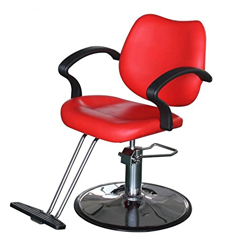 FlagBeauty Hair Beauty Salon Equipment Hydraulic Barber Styling Chair (red) by flag beauty (Image #6)