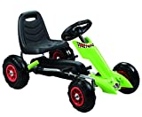 Vroom Rider Zoom Pedal Go-Kart Ride Ons with Pneumatic Tire, Green