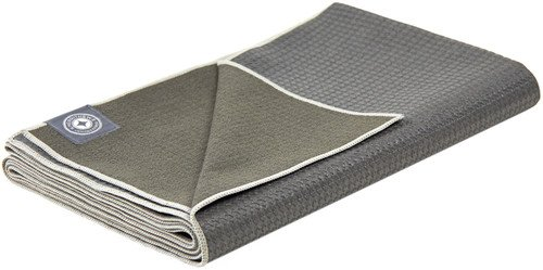 Merrithew Folding Travel Mat (Gray) 0.06 inch / 1.4 mm by Merrithew