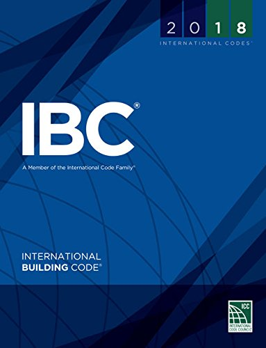 2018 International Building Code (International Code Council Series) by ICC (distributed by Cengage Learning)