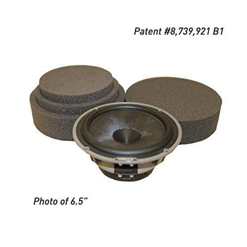 FAST Rings 6.5 3-Piece Car Speaker Enhancement Kit