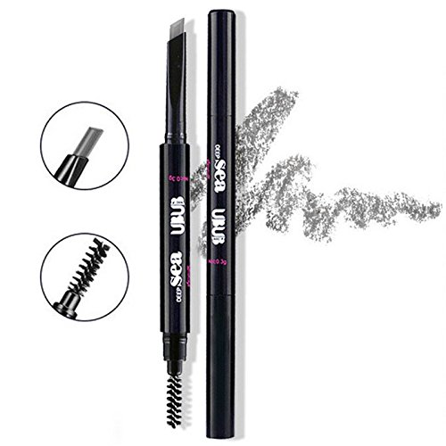HeyBeauty Eyebrow Pencil with Brow Brush, Waterproof Automatic Makeup Cosmetic Tool, - Best Frames Asian Faces For