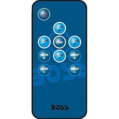 BOSS Audio Systems MRWT69RGB Marine Waketower Speaker System - 600 Watts Of Power, 6 x 9 Inch, Full Range, 2 Way, Multi-Color LED Illumination, Marine grade, Weatherproof, Sold Individually: Car Electronics