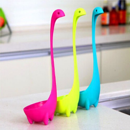 Nessie Soup Ladle Loch Ness Monster Design Upright Scotland Spoon Kitchen Bar (Upright Dvd Holder compare prices)