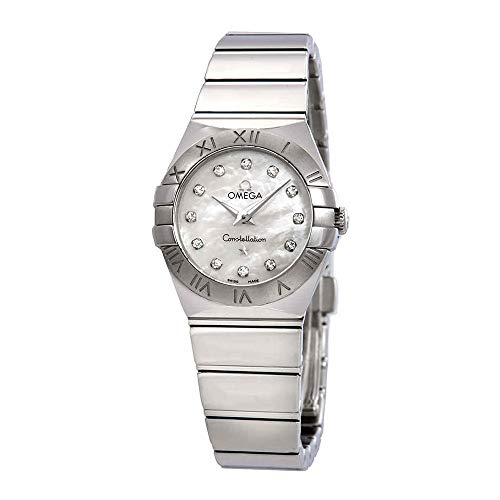 Omega Constellation Mother of Pearl Dial Ladies Watch 123.10.24.60.55.002
