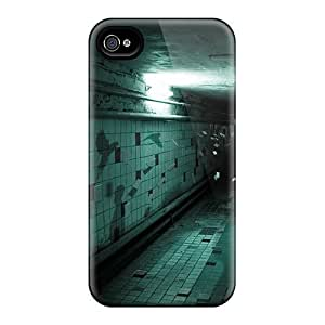Cynthaskey Iphone 4/4s Hybrid Tpu Case Cover Silicon Bumper Scary
