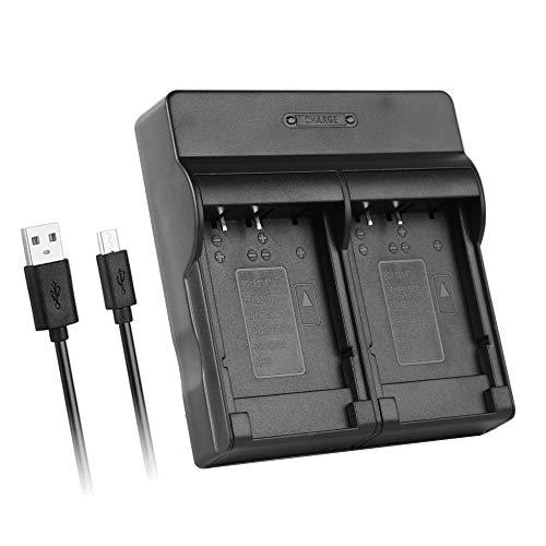Dual USB Ultra-Thin Charger for Sony BG1 Battery,Cyber-Shot DSC-H7, H9, H50, H70, H90, HX5, HX9V, HX10V, W30, W80, W90, W100, W130, W220, W240, W270, W290, W300, WX1, N1 More Digital Cameras