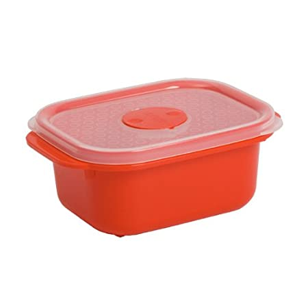 Decor Plastic Container, 375 ml Kitchen Storage & Containers at amazon