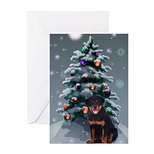 CafePress Rottweiler Christmas - Greeting Card (20-pack),...