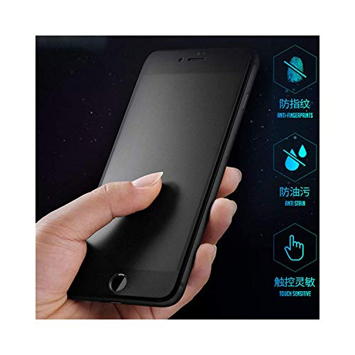 9H 2.5D Matte Frosted Full Cover Tempered Glass Screen Protector for iPhone X XS MAX XR 10 8 7 6S 6 Plus 7Plus Anti Fingerprints for iPhone 6 6s Black