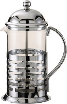 Service Ideas T877B Brick Coffee Press, Polished, Stainless Steel, 1000 mL by Service Ideas