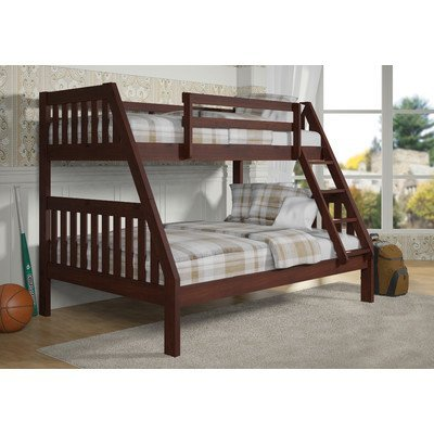 77 in. Twin Over Full Bunk Bed
