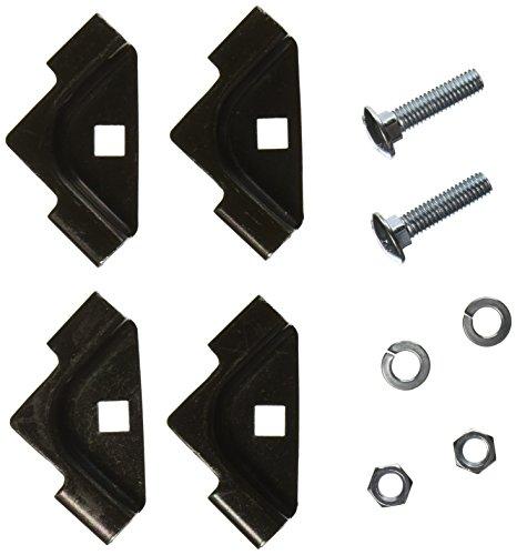 ms HLTK 10 Piece Powder Coated Steel T-Junction Splice Kit for NextFrame Ladder Rack (Hubbell Ladder Rack)