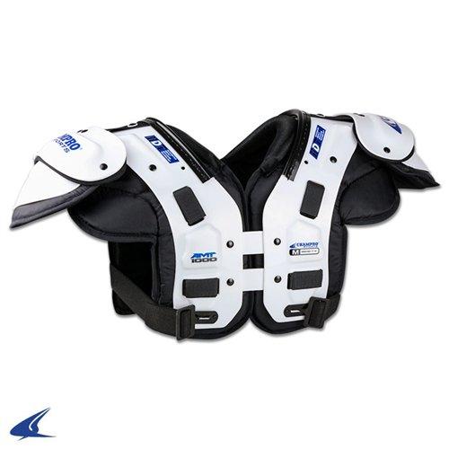 CHAMPRO Sports Amt Varsity Shoulder Pad, Medium White