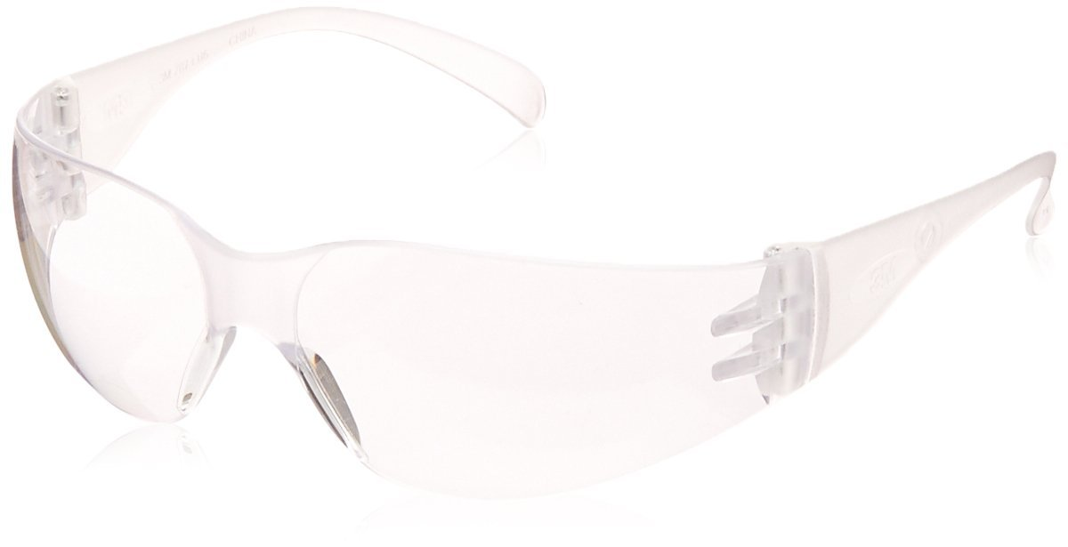 3M 70071559465 Virtua 11228-00000-100 Clear Polycarbonate Safety Glasses, Uncoated Lens, Clear Temple, Price Per Each