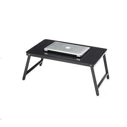 le plus en vogue grand choix de 2019 obtenir pas cher LXYFMS Table Pliante Ordinateur Portable Table lit Bureau ...