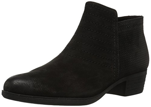 Rockport Women's Vanna Strappy Ankle Bootie, Black Nubuck, 9 M US (Fashions Vannas)