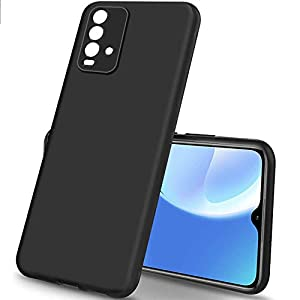 Nainz Redmi 9 Power Back Cover | Matte Soft Silicon Flexible | Camera Bump Protection | All Side Shock Proof Rubberised…