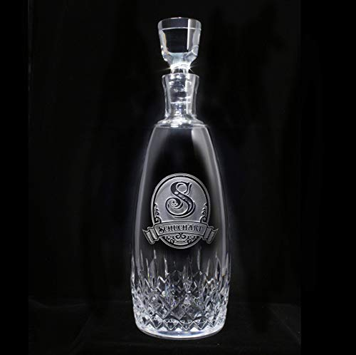 Decanters Lismore (Waterford Crystal Lismore Essence Decanter with Stopper Engraved)