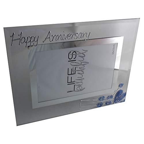 Dreamair 20th Wedding Anniversary Frame - Platinum Gift