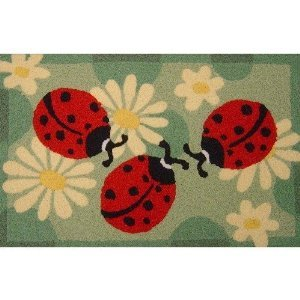 (Jellybean Ladybugs Indoor Outdoor Accent Rug)