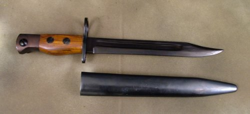 British Enfield No.5 Jungle Carbine Bayonet with Scabbard, Outdoor Stuffs
