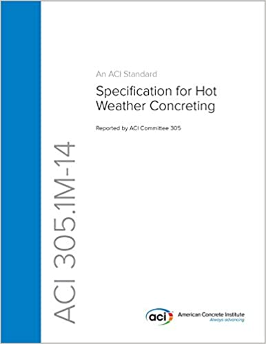 Download epub free english ACI 305.1M-14: Specification for Hot Weather Concreting PDF B00T6G4C6W