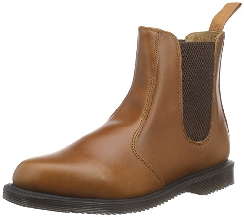 Dr Martens Oak Aniline Boots Flora Brown Women's Braun Oak Chelsea HgP4qHnxd