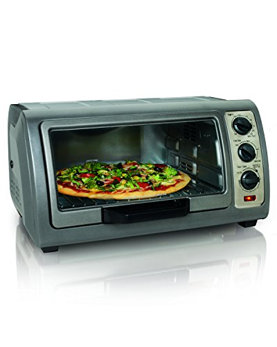 Hamilton Beach Easy Reach Oven with Convection, Silver (31126) (Best Compact Toaster Oven compare prices)