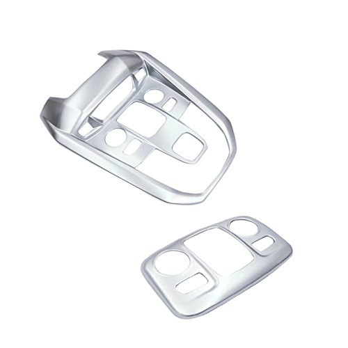 ABS opaco interno tetto testata anteriore + posteriore lampada da lettura Light Cover Trim 2PCS per auto di YUZHONGTIAN Auto Trims Co. Ltd