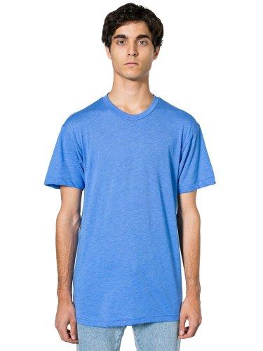 American Apparel Mens Poly-Cotton Short Sleeve Crew Neck