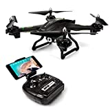 FPV Drone with WiFi Camera Live Video Headless Mode 2.4GHz 4 CH 6 Axis Gyro RTF RC Quadcopter, Compatible with 3D VR Headset