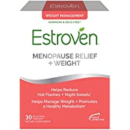 Estroven Weight Management   Menopause Relief Dietary Supplement   Safe Multi-Symptom Relief   Helps Reduce Hot Flashes & Night Sweats*   Helps Manage Weight*   Drug Free & Estrogen Free*   30 Caplets